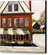 Roadside Market Canvas Print by John Williams