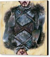 Robb Stark Canvas Print by Denise H Cooperman