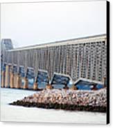 Robert O. Norris Bridge Canvas Print