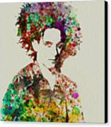 Robert Smith Cure 2 Canvas Print by Naxart Studio