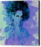 Robert Smith Cure Canvas Print by Naxart Studio