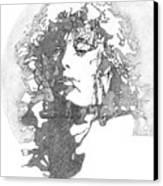 Rock Legend Canvas Print by Karen Clark