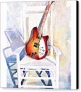 Rock On Canvas Print by Andrew King