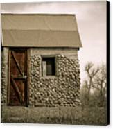 Rock Shed 2 Canvas Print by Marilyn Hunt