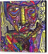 Rockin Chair Canvas Print by Robert Wolverton Jr