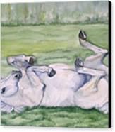 Rocknroll Canvas Print