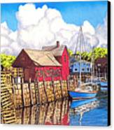 Rockport Cove Canvas Print