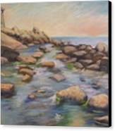 Rockport Harbour Canvas Print