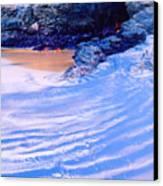 Rocks And Sand 2 Canvas Print
