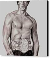 Rocky 3 Canvas Print by Michael Mestas