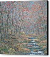 Rocky Forest. Canvas Print