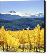 Rocky Mountain Park Colorado Canvas Print by James Steele