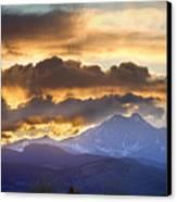 Rocky Mountain Springtime Sunset 3 Canvas Print by James BO  Insogna