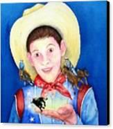 Rodeo Magic Canvas Print