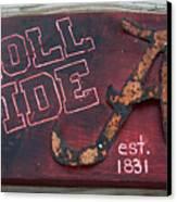 Roll Tide Alabama Canvas Print