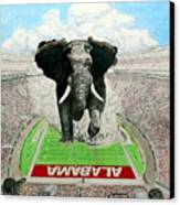 Roll Tide Canvas Print by Martin Lagewaard