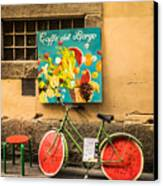 Roman Cafe' Canvas Print