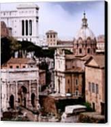 Roman Forum Canvas Print by Warren Home Decor