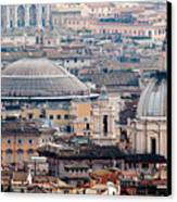 Roman Rooftops Canvas Print