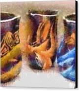 Romanian Vases Canvas Print