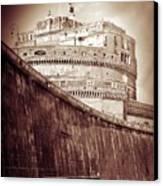 Rome Monument Architecture Canvas Print by Stefano Senise
