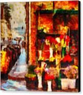 Rome Street Colors Canvas Print