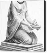 Rome: Vestal Virgin Canvas Print