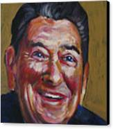 Ronald Reagan Canvas Print by Buffalo Bonker