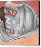 Rondo's Fire Helmet Canvas Print by Ken Powers