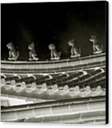 Roof National Palace Museum Taiwan City - Taipei  Canvas Print