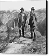 Roosevelt & Muir Canvas Print