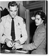 Rosa Parks 1913-2005, Whose Refusal Canvas Print