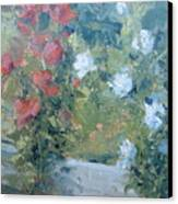 Rose Garden Canvas Print