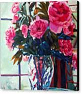 Rose Symphony Canvas Print by David Lloyd Glover