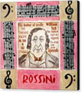 Rossini Portrait Canvas Print