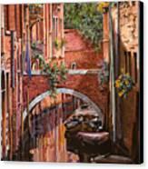 Rosso Veneziano Canvas Print
