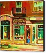 Rothchilds Jewellers On Park Avenue Canvas Print