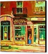 Rothchilds Jewellers On Park Avenue Canvas Print by Carole Spandau