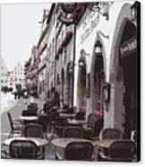 Rothenburg Cafe - Digital Canvas Print
