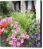 Rothenburg Flower Box Canvas Print