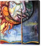 Rough Sea Canvas Print by Anthony Burks Sr