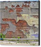 Rough Wall Canvas Print by David Kyte