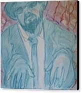 Round Midnight Canvas Print