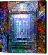 Rounded Doors Canvas Print by Barbara Berney