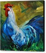 Rowdy Rooster Canvas Print