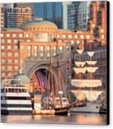 Rowes Wharf Canvas Print