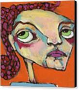 Roxie Box Canvas Print