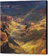 Royal Rainbow Canvas Print by Peter Coskun