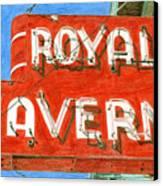 Royal Tavern Canvas Print