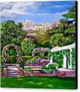 Rozannes Garden Canvas Print